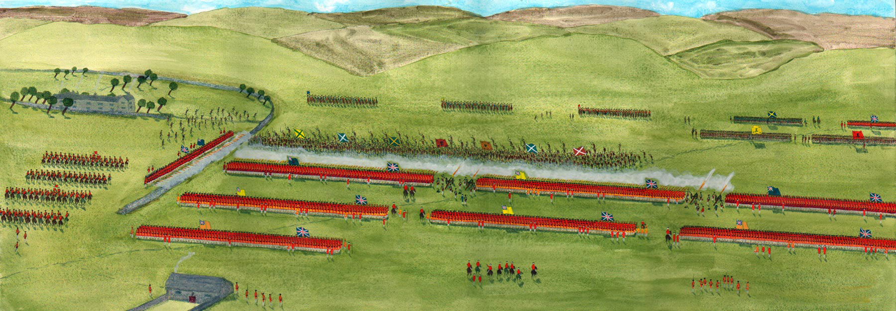 battle of culloden The battle of culloden was the final confrontation of the 1745 jacobite rising on 16 april 1746, the jacobite forces of charles edward stuart fought loyalis.