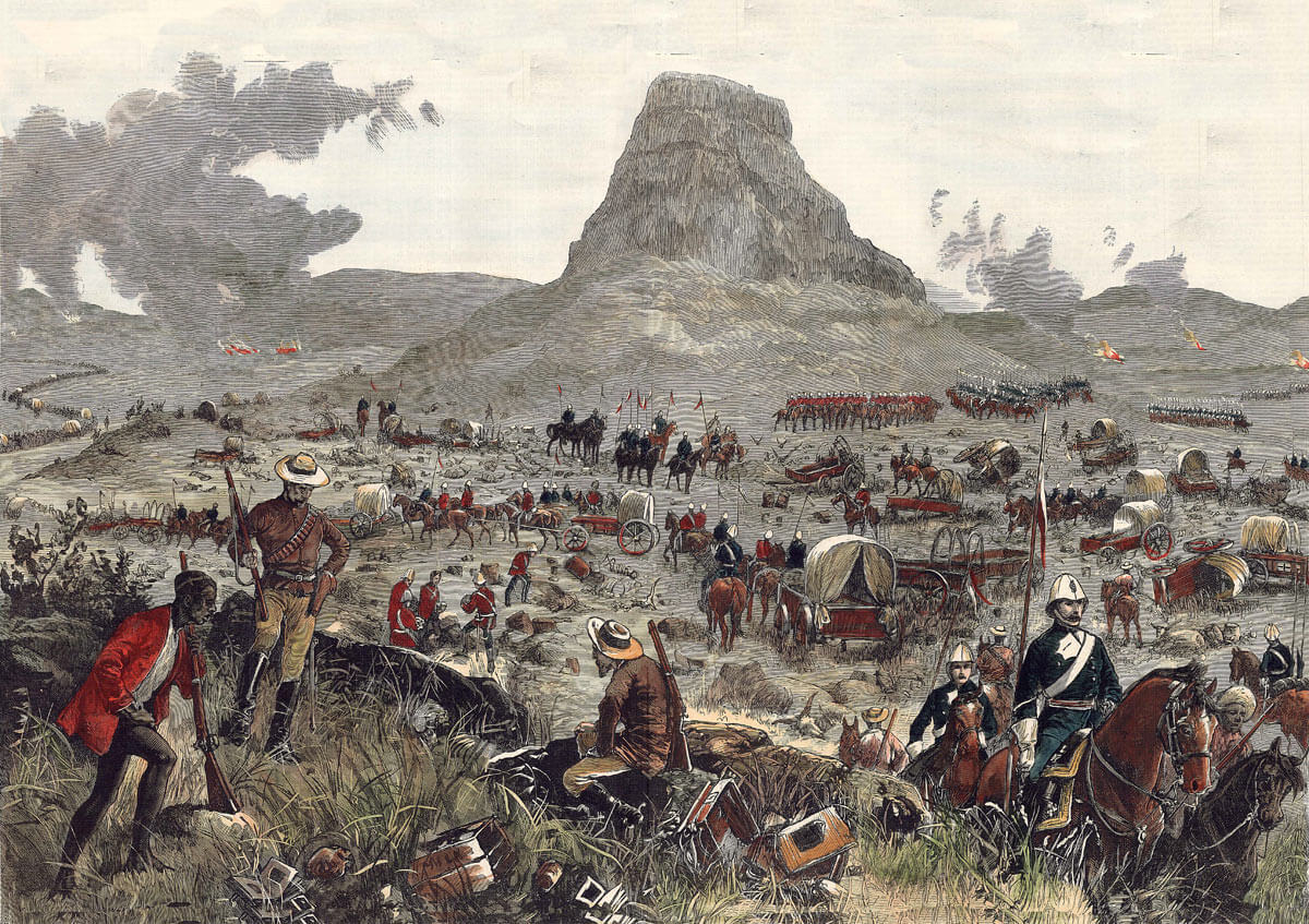 the battle of isandlwana The battle of isandlwana, probably the worst defeat the british army ever suffered at the hands of a native foe, was over on the morning of january 22 the isandlwana .